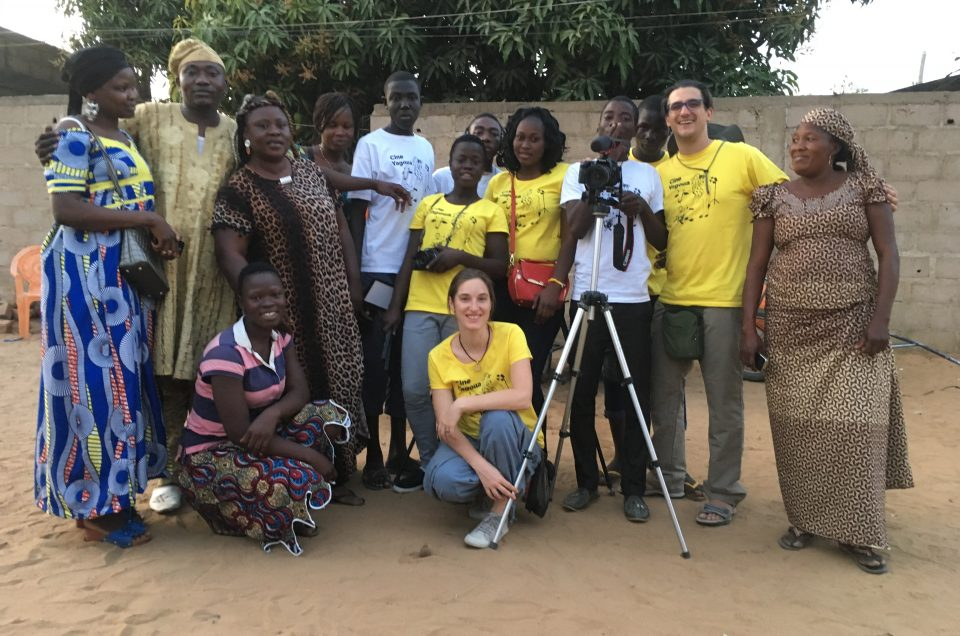 Filmmaking workshop in Cameroon