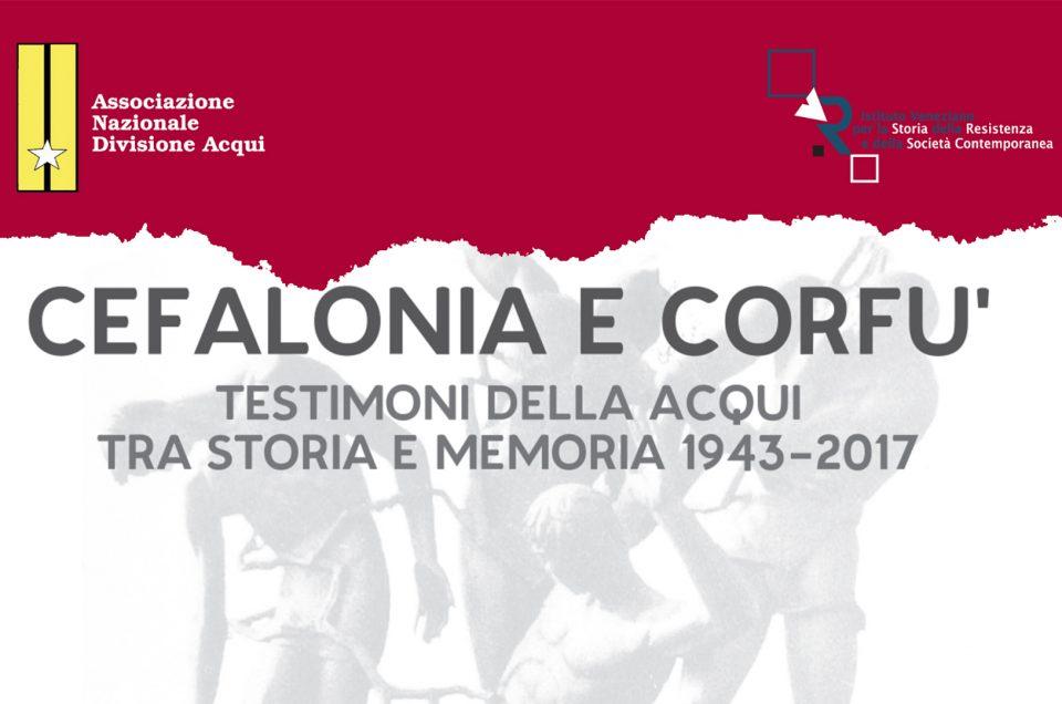 Presentazione Cefalonia e Corfù Testimoni della Acqui